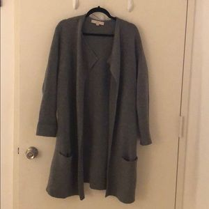 Loft long cardigan coat